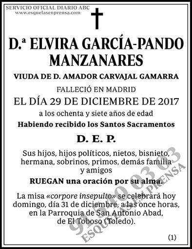 Elvira García-Pando Manzanares